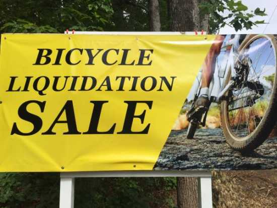 Bicycle Liquidation Warehouse Sale (Greenville)