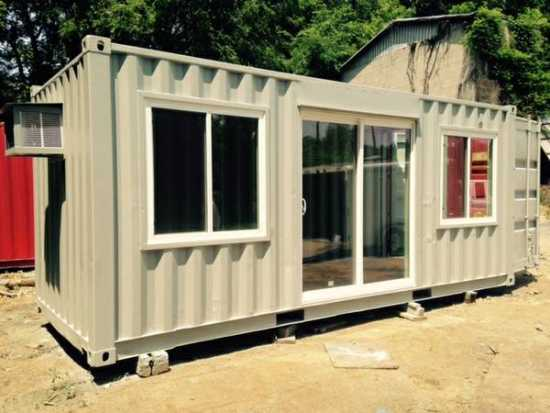 20' and 40' conex shipping cargo storage container