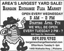 Bargain Exchange Flea Market (Pickens, SC)
