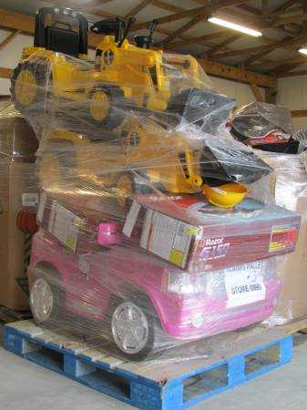 Truckload of Power Wheels