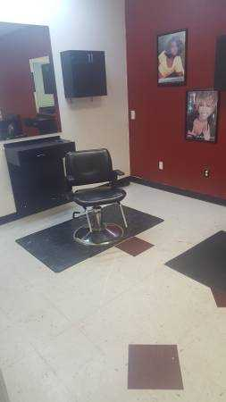 Hair Salon for lease or equipment for sale - $4500