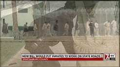 Bill would put Inmates to work on state roads