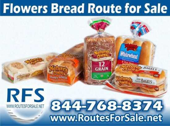 Flowers Bread Route distributorship for sale