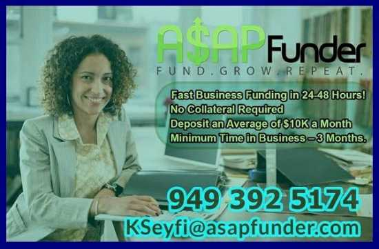 BUSINESS LOAN - NO CREDIT CHECK (Greenville SC)