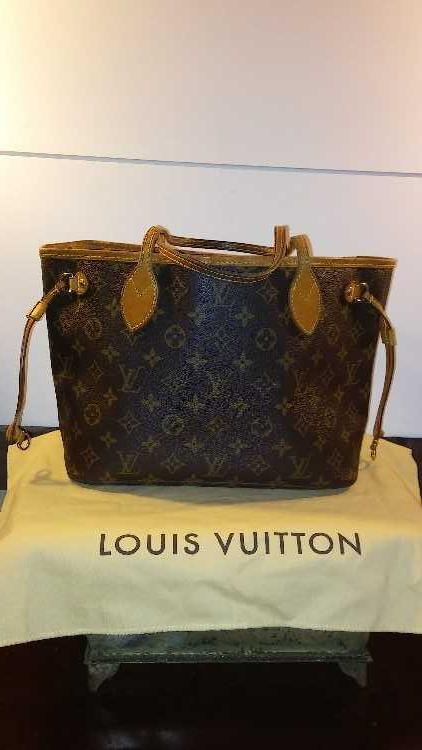 Authentic Louis Vuitton Neverfull Handbag Mb4057
