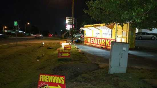 Fireworks Stand for Sale - $5500 (Charleston)