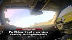 "Sheriff caught on body camera saying ""take him out"