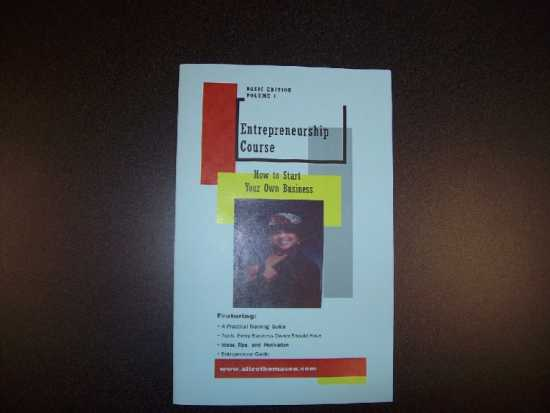 INTRODUCTION TO ENTREPRENEURSHIP BOOK - AD