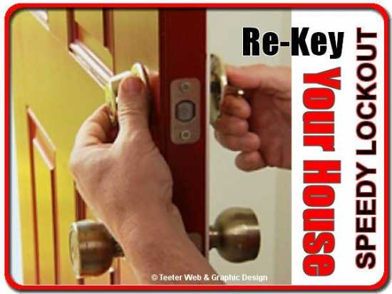 Re-Key All Your Home Locks ( Locksmith Lock Servi