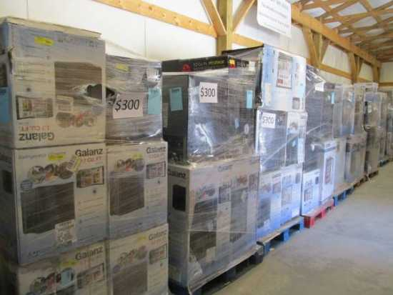 Pallets of Appliances at Wholesale - $250 (Easley,