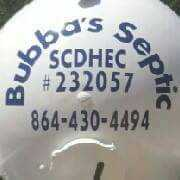 Bubba's Septic (Travelers rest SC)