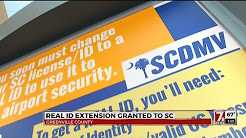 SC Gets Extension From Federal Govt. For REAL ID