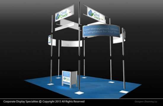 Trade Show Booth Exhibit For Sale - $2300 (Rochest
