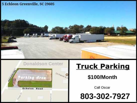 Tractor Trailer Parking - $100 (Greenville, SC)